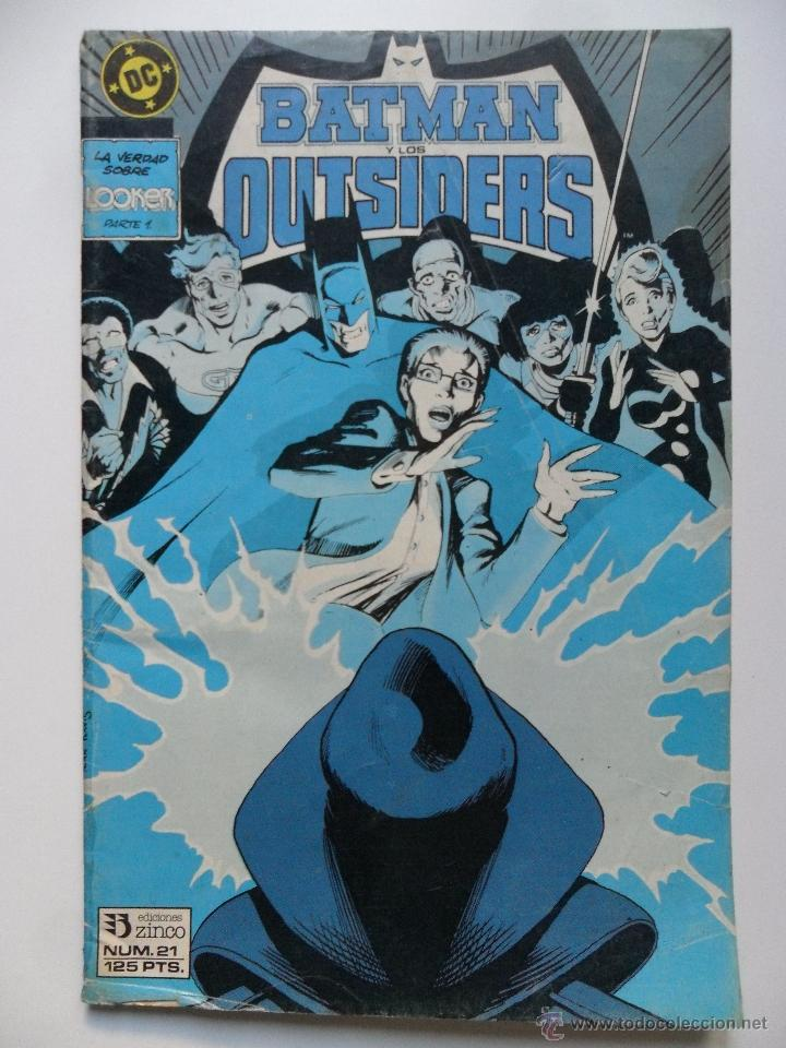 BATMAN Y LOS OUTSIDERS Nº 21 (Tebeos y Comics - Zinco - Outsider)