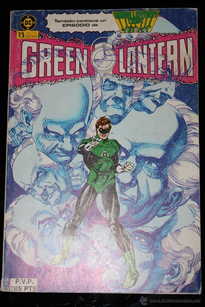 GREEN LANTERN RETAPADO DEL 8 AL 12 ZINCO (Tebeos y Comics - Zinco - Retapados)