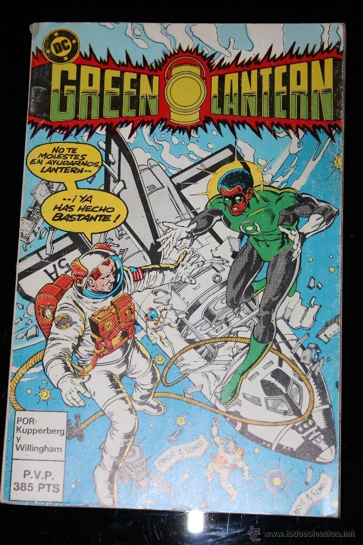 GREEN LANTERN RETAPADO DEL 18 AL 22 ZINCO (Tebeos y Comics - Zinco - Retapados)