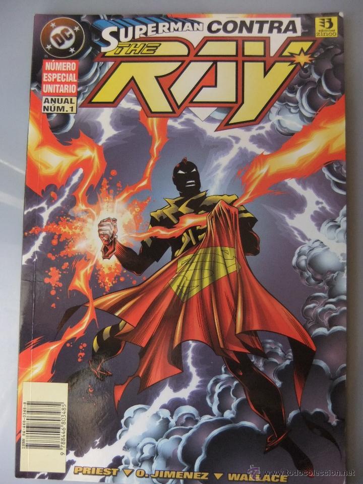 SUPERMAN CONTRA THE RAY (Tebeos y Comics - Zinco - Superman)