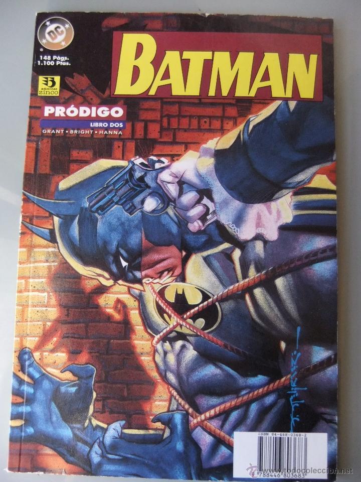 BATMAN PRODIGIO LIBRO 2 (Tebeos y Comics - Zinco - Batman)