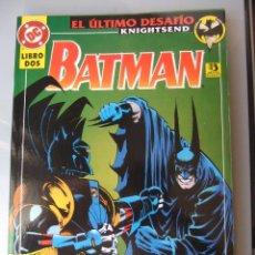 Cómics: BATMAN EL ULTIMO DESAFIO LIBRO DOS. Lote 40539079