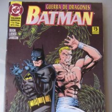 Cómics: BATMAN GUERRA DE DRAGONES. Lote 40543563
