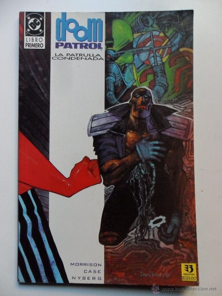 Cómics: DOOM PATROL LA PATRULLA CONDENADA (COMPLETO) . MORRISON . CASE . NYBERG - Foto 2 - 40618294