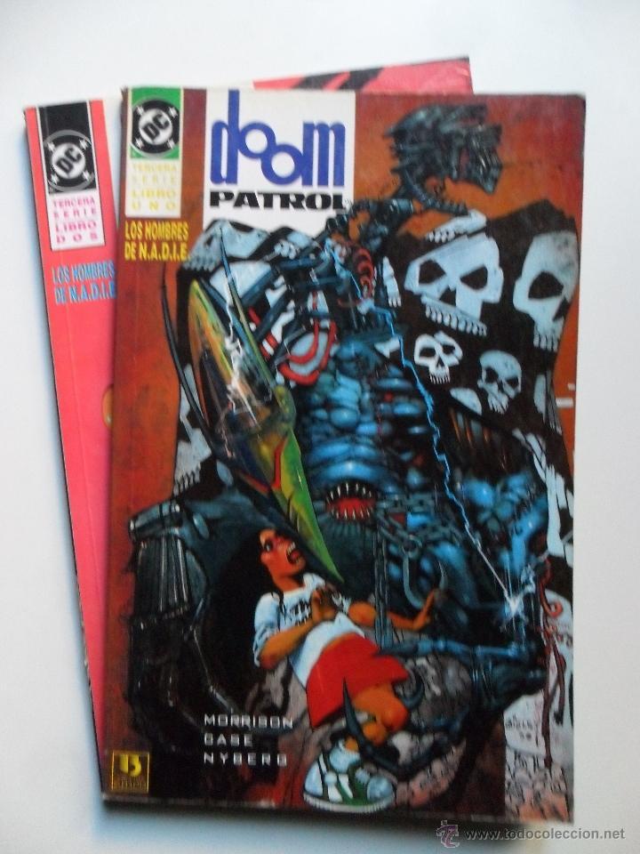 DOOM PATROL LOS HOMBRES DE N.A.D.I.E. (COMPLETO) (Tebeos y Comics - Zinco - Patrulla Condenada)