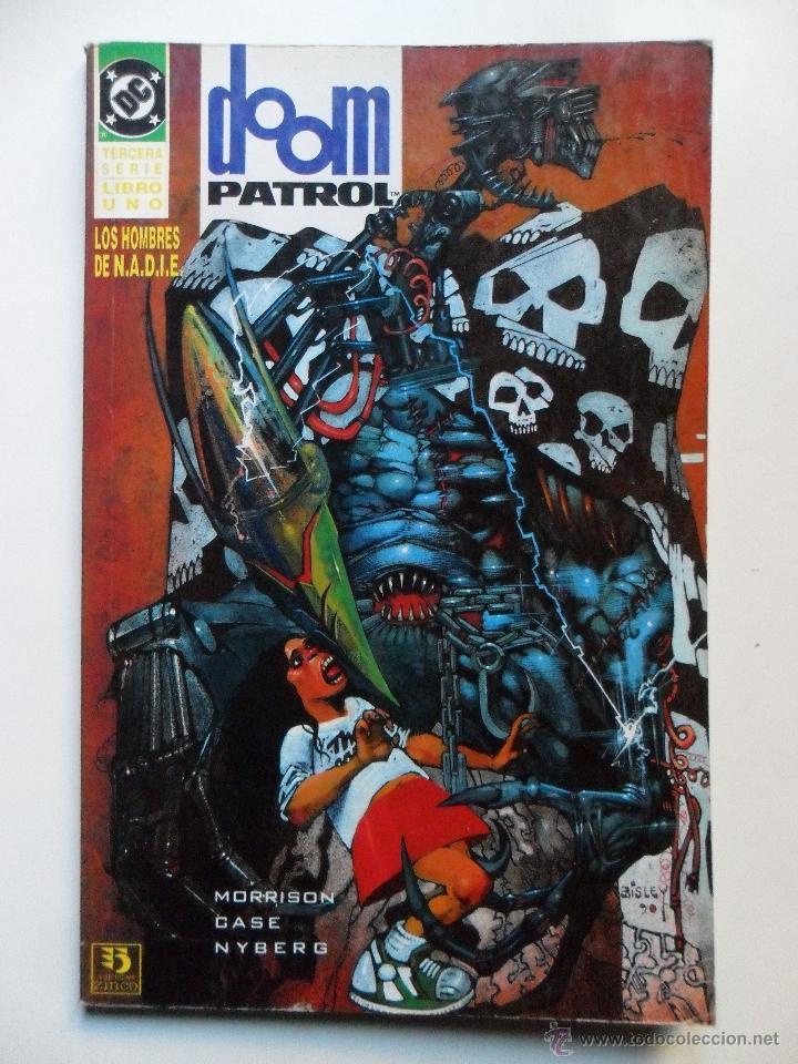 Cómics: DOOM PATROL LOS HOMBRES DE N.A.D.I.E. (COMPLETO) - Foto 2 - 40618353