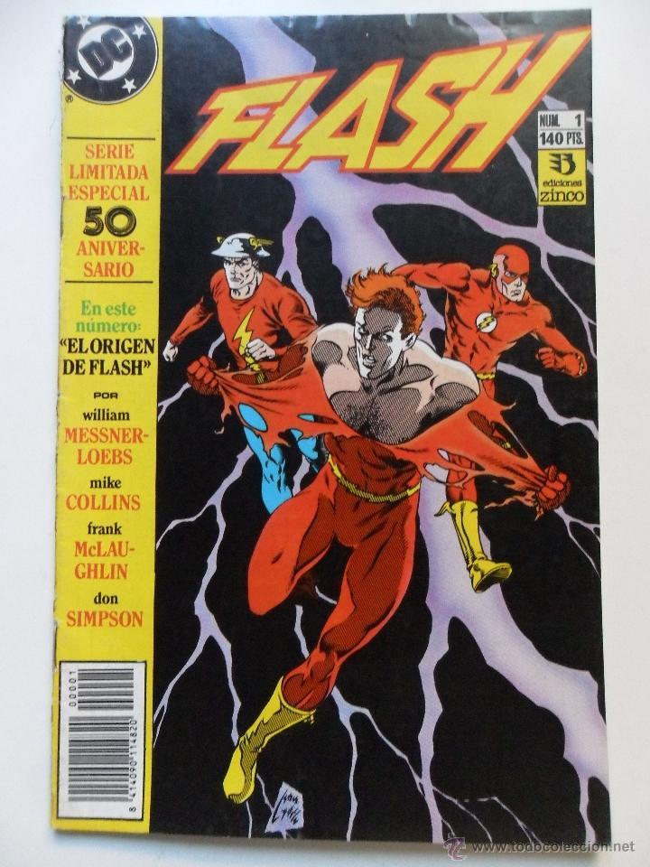 FLASH Nº 1 SERIE LIMITADA ESPECIAL 50 ANIVERSARIO (Tebeos y Comics - Zinco - Otros)