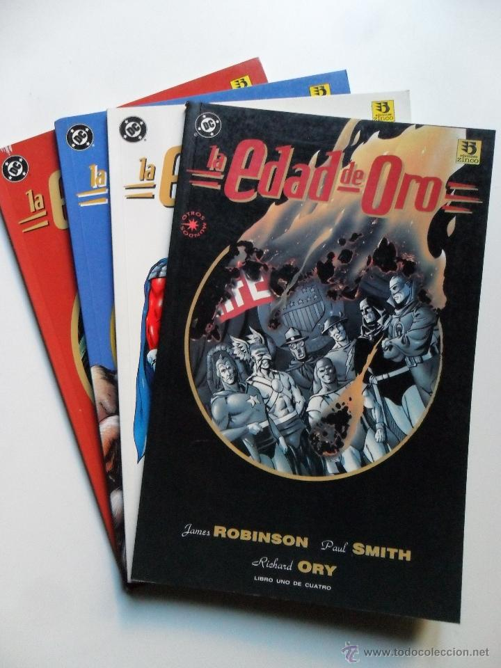 Cómics: LA EDAD DE ORO (COMPLETO) . JAMES ROBINSON . PAUL SMITH - Foto 1 - 40622112