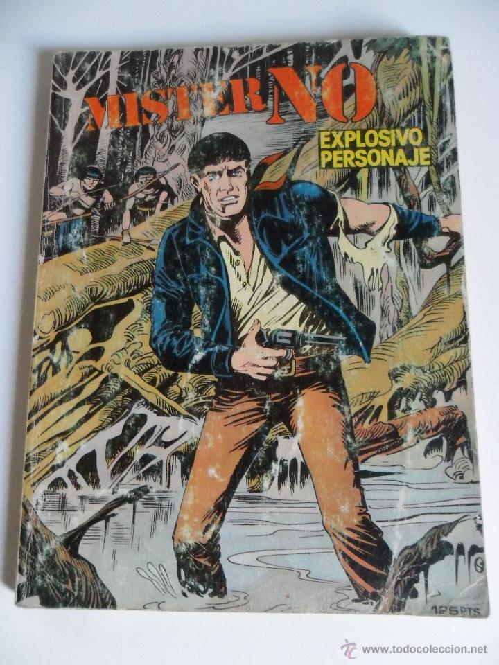 MISTER NO Nº 1 EXPLOSIVO PERSONAJE . FERRI . G. NOLITTA . ZINCO 1982 (Tebeos y Comics - Zinco - Otros)