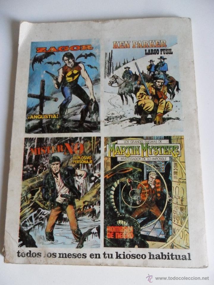 Cómics: MISTER NO Nº 1 EXPLOSIVO PERSONAJE . FERRI . G. NOLITTA . ZINCO 1982 - Foto 2 - 40623473