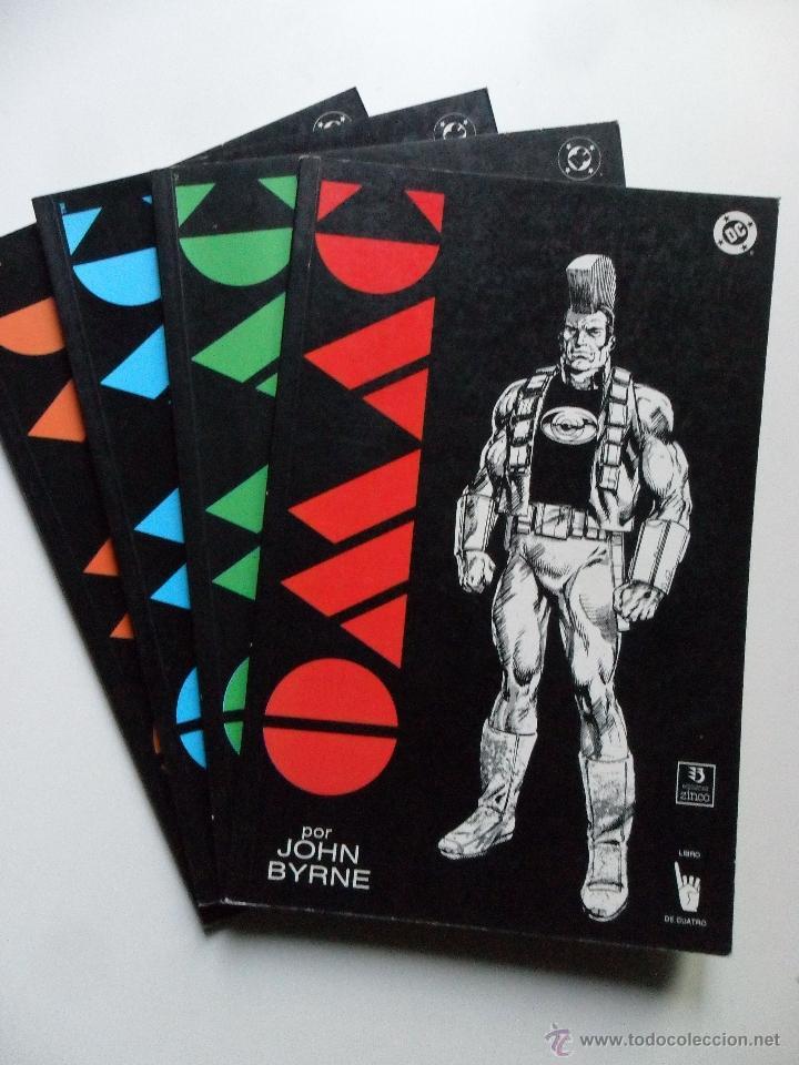 OMAC (COMPLTO) . JOHN BYRNE (Tebeos y Comics - Zinco - Prestiges y Tomos)