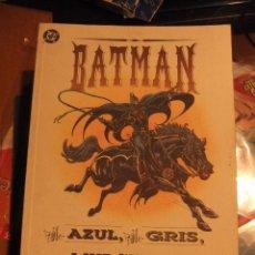 Cómics: BATMAN EL AZUL, EL GRIS, EL MURCIELAGO. Lote 40670654