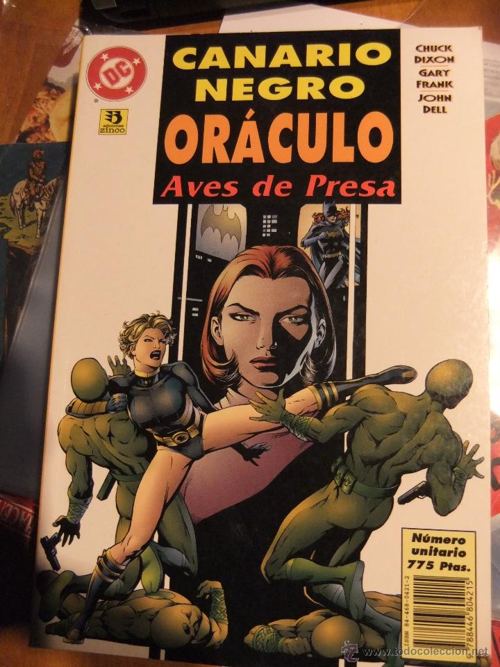 CANARIO NEGRO ORACULO AVES DE PRESA (Tebeos y Comics - Zinco - Prestiges y Tomos)
