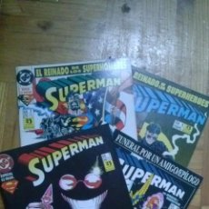 Cómics: SUPERMAN NºS 1 AL 7 EL REINADO DE LOS SUPERHOMBRES. Lote 40671289