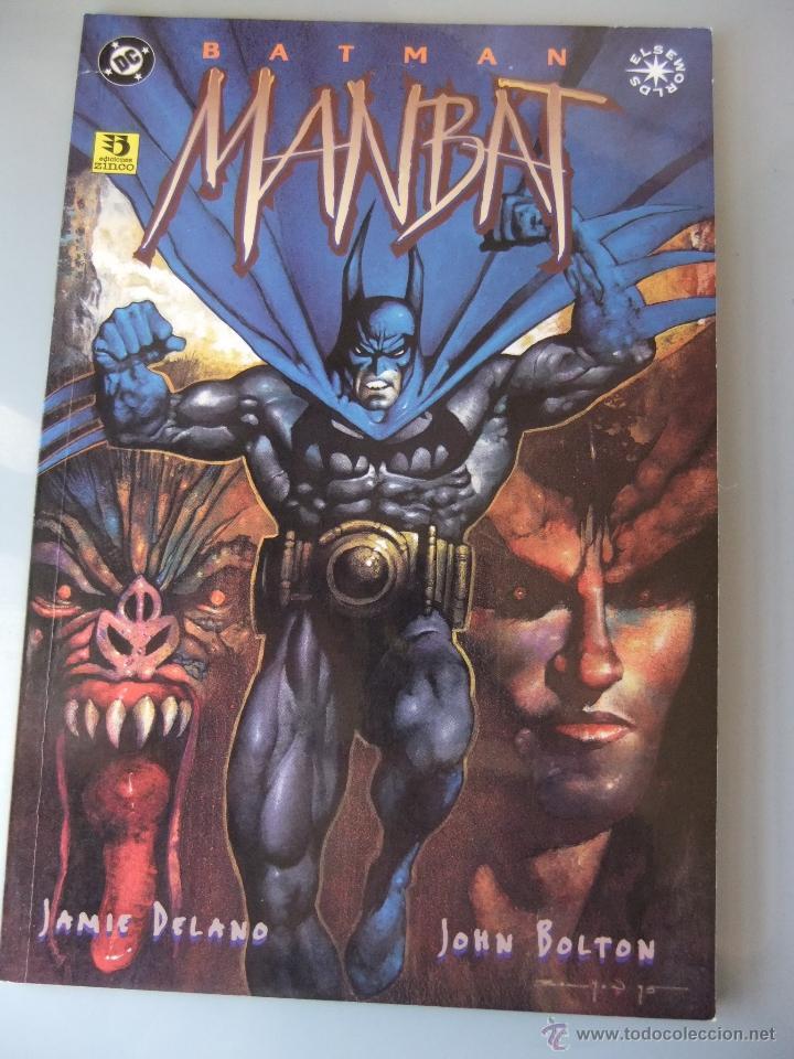 BATMAN MANBAT ZINCO (Tebeos y Comics - Zinco - Prestiges y Tomos)