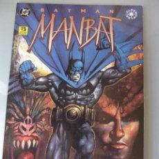 Cómics: BATMAN MANBAT ZINCO. Lote 40754932