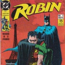Cómics: ROBIN. 9 NUMEROS DE LA MINISERIE DE 12. DC COMICS. ZINCO. Lote 40808740