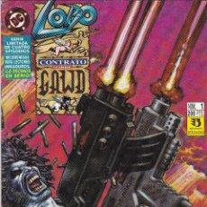 Cómics: LOBO. CONTRATO SOBRE GAWD. NUMERO 1 DE 4. Lote 43713677