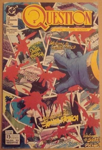 QUESTION NO. 10 - EDICIONES ZINCO (Tebeos y Comics - Zinco - Question)