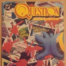 Cómics: QUESTION NO. 10 - EDICIONES ZINCO . Lote 40837759