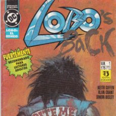 Cómics: LOBO'S BACK NUMERO 1 DE 4. Lote 40837781
