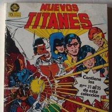 Cómics: NUEVOS TITANES NOS. 31 AL 35 RETAPADO . Lote 41005094