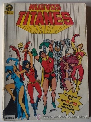 NUEVOS TITANES TOMO 2 NOS.6 AL 10 EDICIONES ZINCO (Tebeos y Comics - Zinco - Nuevos Titanes)