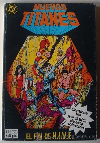 NUEVOS TITANES VOL.8 NOS. 36 AL 40 RETAPADO (Tebeos y Comics - Zinco - Nuevos Titanes)