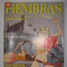 Cómics: HEMBRAS PELIGROSAS. Nº49. DOS HOMBRES LOBO/YUL PRISIONERO DE DRACULA/...1988. MIDE: 24,5 X 17,3 CMS.. Lote 41106059