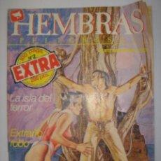 Cómics: HEMBRAS PELIGROSAS. Nº2 EXTRA. LA ISLA DEL TERROR/EXTRAÑO ROBO...1984. MIDE: 24,5 X 17,3 CMS.. Lote 41106123