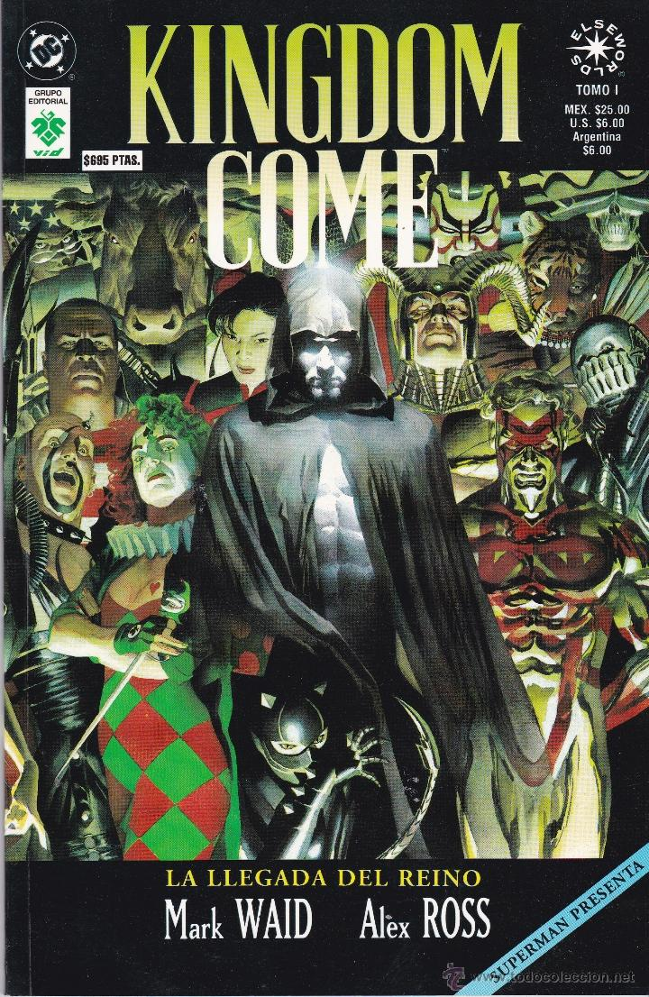 KINGDOM COME TOMO 1. DC COMICS (Tebeos y Comics - Zinco - Superman)