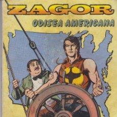Cómics: COMIC - ZAGOR - Nº 4 - ODISEA AMERICANA - ED.ZINCO 1982 FORMATO TACO. Lote 41346358