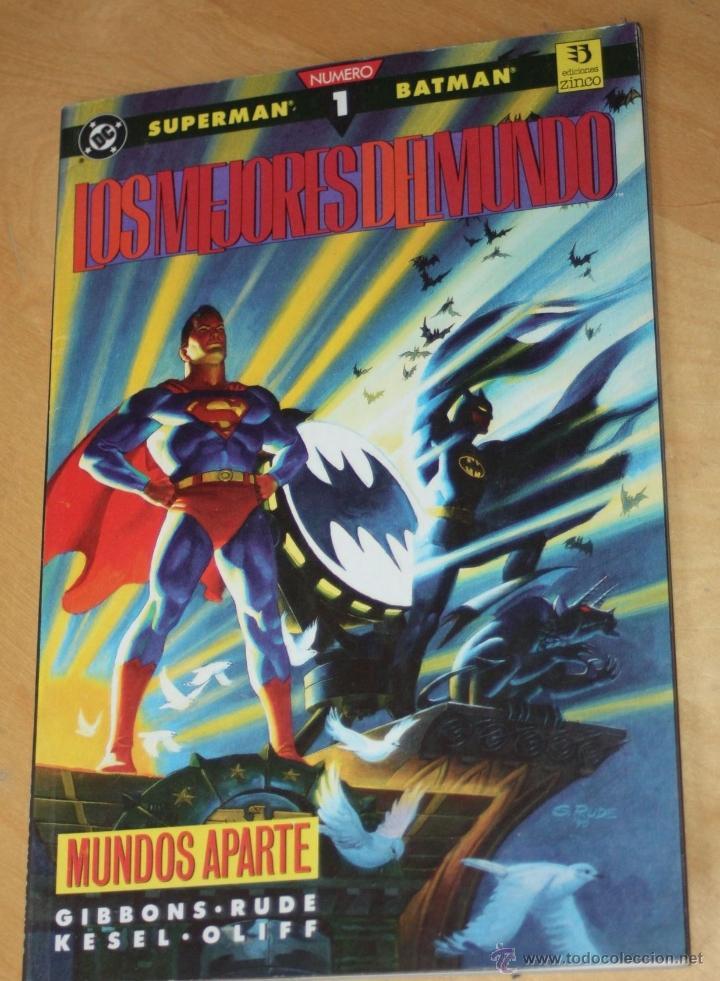 SUPERMAN Y BATMAN : LOS MEJORES DEL MUNDO Nº1 (Tebeos y Comics - Zinco - Prestiges y Tomos)