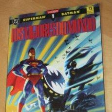 Cómics: SUPERMAN Y BATMAN : LOS MEJORES DEL MUNDO Nº1. Lote 41521794