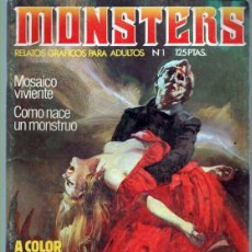 Comics: MONSTERS Nº 1. Lote 41562006