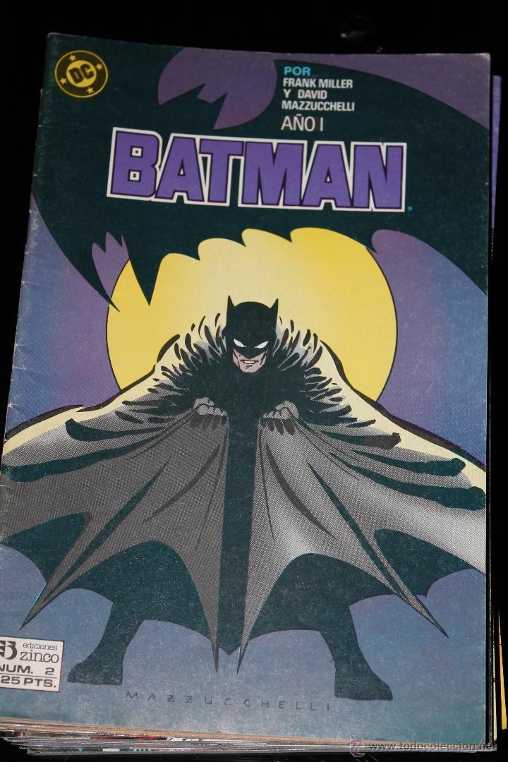 BATMAN 2 VOLUMEN 2 ZINCO (Tebeos y Comics - Zinco - Batman)