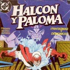 Cómics: HALCON Y PALOMA LOTE 3 NÚMEROS 1-2-3. Lote 246662520