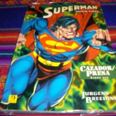 Cómics: ZINCO SUPERMAN JUICIO FINAL LIBRO DOS 2 CAZADOR PRESA. 575 PTS. PRECINTADO.. Lote 41726055