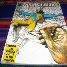 Cómics: ZINCO RETAPADO ANIMAL MAN Nº 2 CON LOS NºS 6, 7, 8, 9 Y 10. 475 PTS. MUY BUEN ESTADO.. Lote 41726892