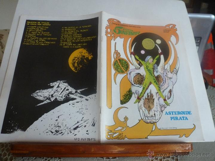 Cómics: lote 5 por infinito ESTEBAN MAROTO 1981 nº-1-2-3- con poster color nuevos - Foto 2 - 41740236