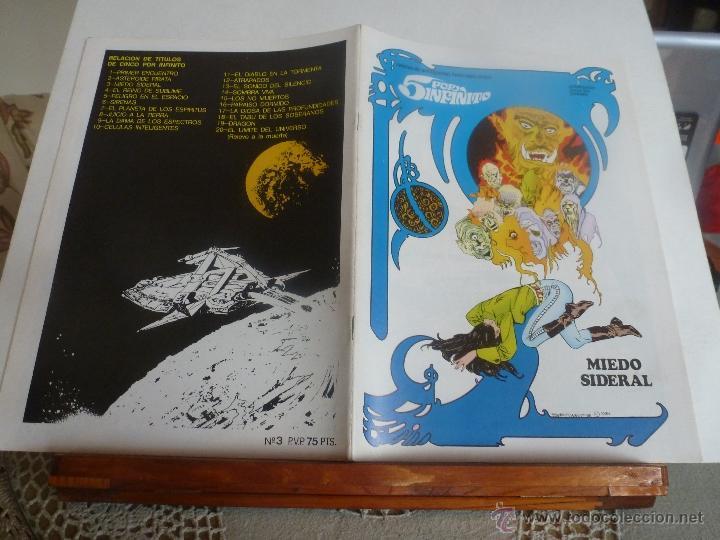 Cómics: lote 5 por infinito ESTEBAN MAROTO 1981 nº-1-2-3- con poster color nuevos - Foto 4 - 41740236