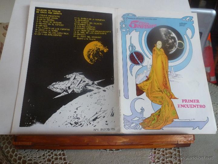 Cómics: lote 5 por infinito ESTEBAN MAROTO 1981 nº-1-2-3- con poster color nuevos - Foto 5 - 41740236