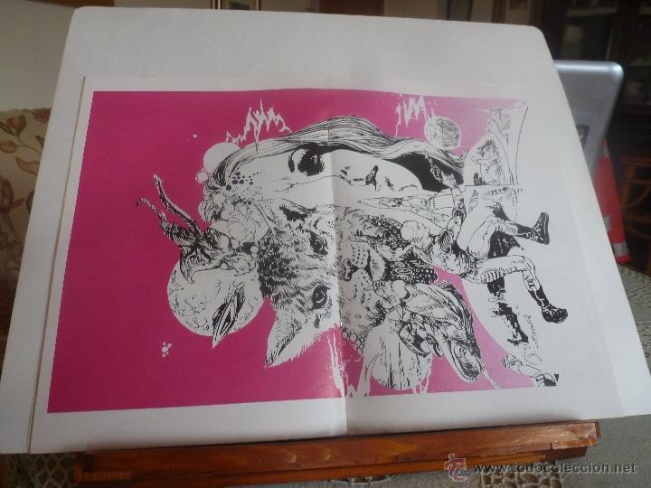 Cómics: lote 5 por infinito ESTEBAN MAROTO 1981 nº-1-2-3- con poster color nuevos - Foto 6 - 41740236