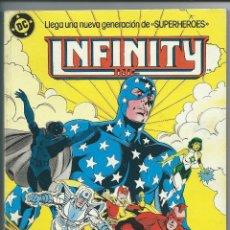 Cómics: INFINITY INC. - TOMO 2 - DEL Nº 6 AL Nº 10 - ED. ZINCO 1986. Lote 41759853