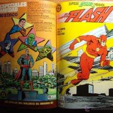 Cómics: ESPECIALES DE DC COMPLETAS DE ZINCO EN UN TOMO FLASH, LIGA DE JUSTICIA ETC.. Lote 41990909