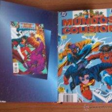 Cómics: THE SHADOW Y MUNDOS EN COLISION DE DC COMPLETAS DE ZINCO EN UN TOMO DE LUJO. Lote 41990971