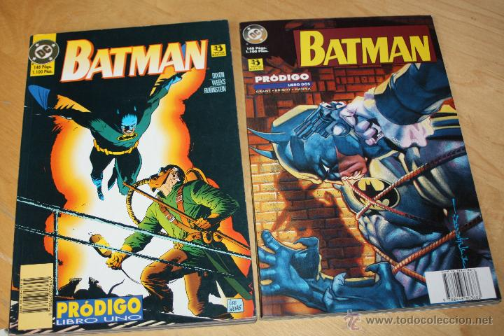 BATMAN : PRODIGO. ( SERIE COMPLETA EN DOS TOMOS )GRANT, BRIGHT & HANNA (Tebeos y Comics - Zinco - Prestiges y Tomos)