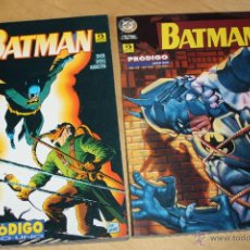 Cómics: BATMAN : PRODIGO. ( SERIE COMPLETA EN DOS TOMOS )GRANT, BRIGHT & HANNA. Lote 42061727