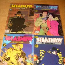 Cómics: THE SHADOW #1-4 (ZINCO). Lote 42193990