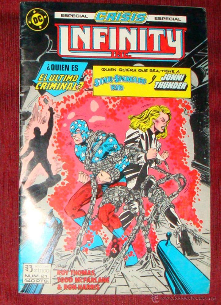 Cómics: 3 Comic Crisis Infinity INC 19-20-21 Grupo Zinco DC 1986 nuevo - Foto 2 - 42379328